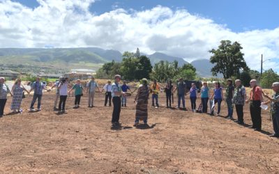Nā Hale O Maui blesses project, pours foundation on first lot